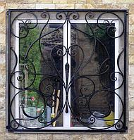 Решетки на окна с художественной ковкой, фото 1