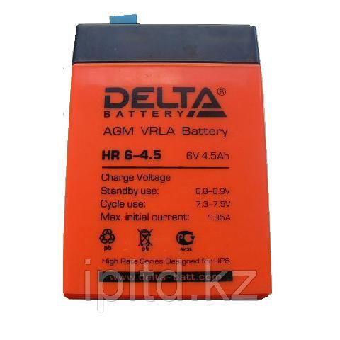 Delta аккумуляторная батарея HR6-4.5