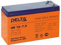 Delta аккумуляторная батарея HR12-7.2 (8 лет)