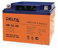 Delta аккумуляторная батарея HR12-26