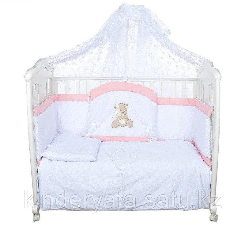 Комплект в кровать БАЛУ Спокойной ночи, розовый