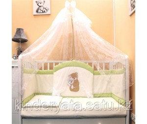 Комплект в кровать БАЛУ Спокойной ночи, салатовый