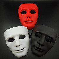 Маска jabbawockeez, белая, черная, красная, фото 1
