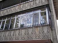 Решетки на балкон, фото 1