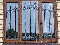 Решетки  на окна плоские, фото 1