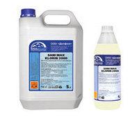 Моющее средство на основе гипохлорита для мытья и дезинфекции - SANI MAX KLORIN 2000 Канистра 10 л.