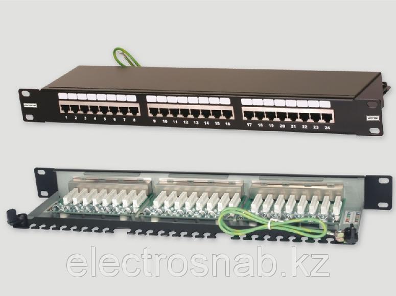 Патч панель Eurolan кат. 5 FTP