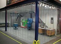 Промышленные рулонные пвх шторы