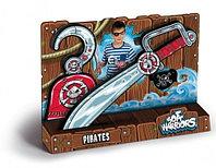 Набор Грозного Пирата. Меч, крюк и повязка в комплекте безоп.легк.удобн.