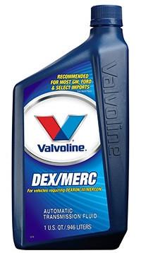 Трансмиссионное масло VALVOLINE ATF DEX/MERC (DIII - MERCON) 1 литр