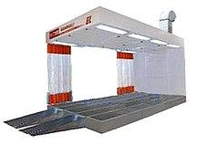 Guangli GL622 - пост подготовки к окраске с подогревом воздуха на металлическим основанием