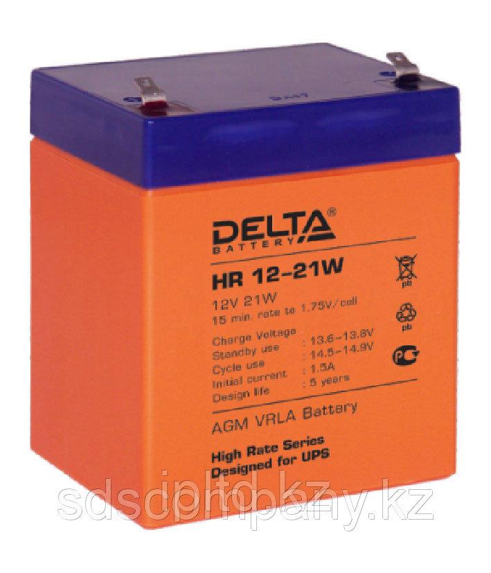 Delta аккумуляторная батарея HR12-21W (8 лет)