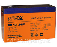 Delta аккумуляторная батарея HR12-24W