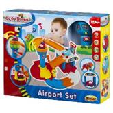 """WinFun 1243-NL Игровой набор """"Аэропорт"""" (3 этажа, лифт, свет и звук. эффекты, 2 самолета в комплекте"""