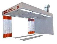 Guangli GL522 - пост подготовки к окраске с подогревом воздуха