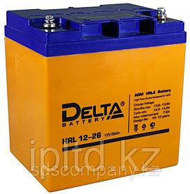 Delta аккумуляторная батареяHRL12-26
