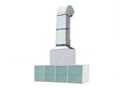Guangli GL411 - пост подготовки к окраске с диагональным забором воздуха без верхнего пленума