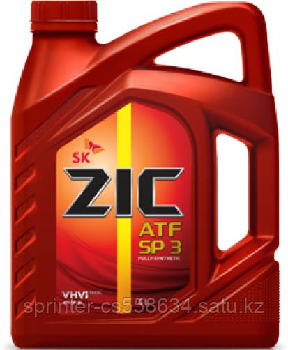 Трансмиссионное масло ZIC ATF SP-III 4 литра
