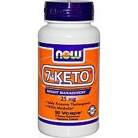 Now Foods, 7 -КЕТО, ДГЭА 25 мг, 90 капсул.