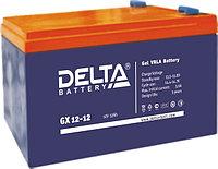Гелевая аккумуляторная батарея Delta 12 А/ч GX12-12