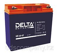 Гелевая аккумуляторная батарея Delta 17 А/ч GX12-17