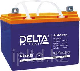 Гелевая аккумуляторная батарея Delta 40 А/ч GX12-40