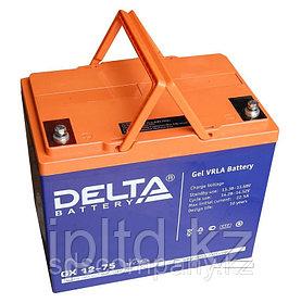 Гелевая аккумуляторная батарея Delta 75 А/ч GX12-75