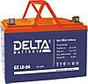 Гелевая аккумуляторная батарея Delta 90 А/ч GX12-90