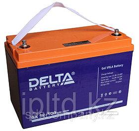 Гелевая аккумуляторная батарея Delta 100 А/ч GX12-100