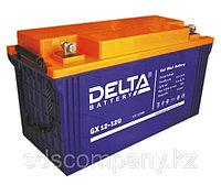Гелевая аккумуляторная батарея Delta 120 А/ч GX12-120