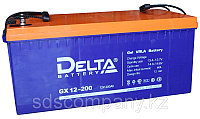 Гелевая аккумуляторная батарея Delta 200 А/ч GX12-200