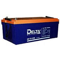 Гелевая аккумуляторная батарея Delta 230 А/ч GX12-230