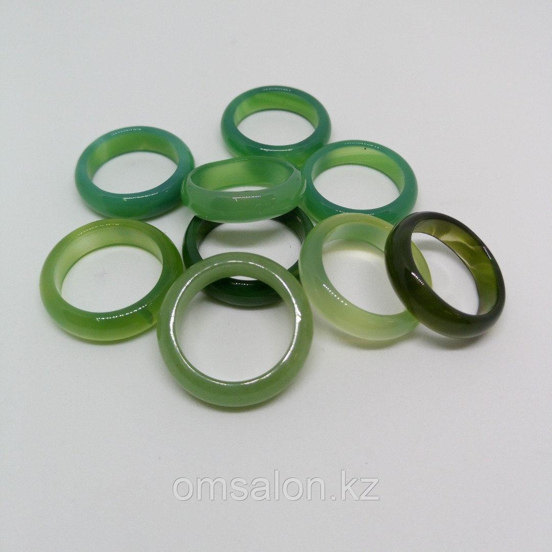 Кольцо из цветного агата