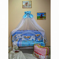 Балу Комплект в кроватку Малыш  8 предметов, голубой