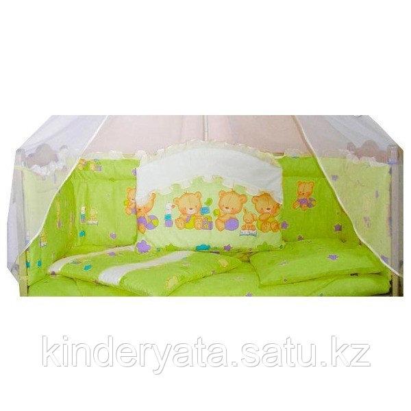 Балу Комплект в кроватку Малыш  8 предметов, салатовый