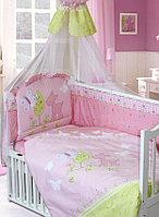 Комплект для кроватки Золотой Гусь Little Friend, 7 предметов