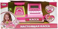 """A539-H05036-R Касса """"Играем вместе"""" на бат. свет+звук, с аксесс. в русс. кор."""