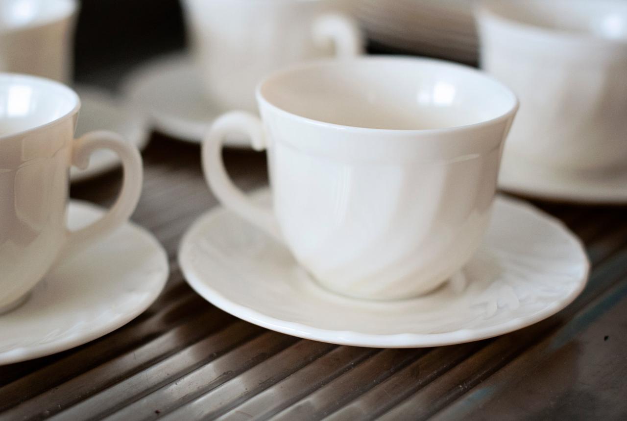 Чайный сервиз Luminarc Trianon на 6 персон 12 единиц (E8845)