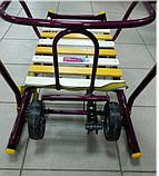 Санки Тимка 6 универсал с колесами, фото 6