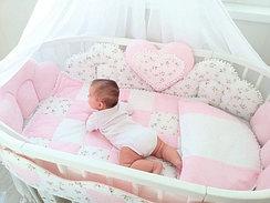Комплекты для круглых кроваток
