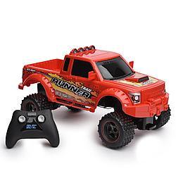 Машина р/у New Bright Truck 1:14 на батарейках (красная)