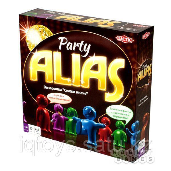 Настольная игра Alias Party-2 (Элиас Вечеринка), Tactic (Тактик)
