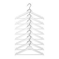 Плечики БУМЕРАНГ 8 шт. белый ИКЕА, IKEA