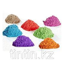 Кинетический песок 2 кг с песочницей бассейном, фото 2
