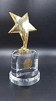 """Награда """"Звезда"""" со стеклянной подставкой, фото 1"""