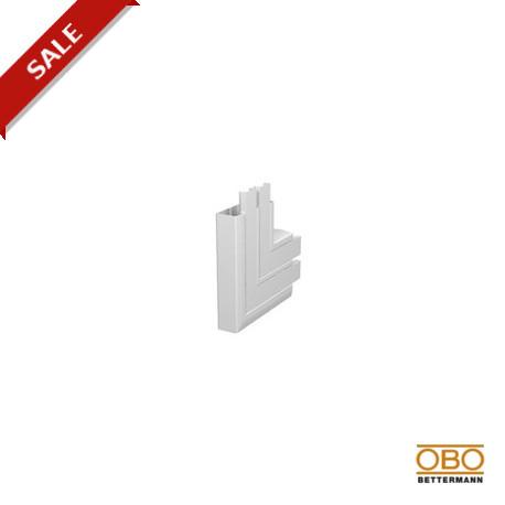 OBO Bettermann Угол плоский восходящий для короба двухсекционного Rapid 45 53х160