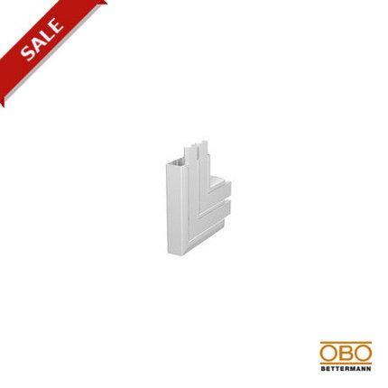 OBO Bettermann Угол плоский восходящий для короба двухсекционного Rapid 45 53х160, фото 2