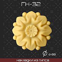 Мебельная накладка из гипса Гн-32