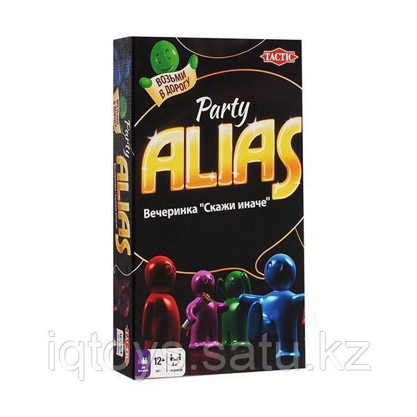Настольная игра Alias Party (Элиас Вечеринка) Компактная версия, Tactic (Тактик)