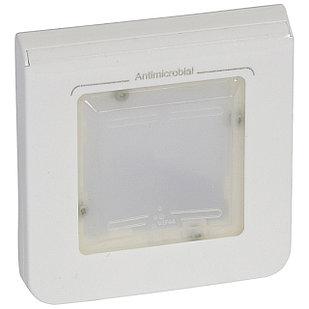 Рамка 2 модуля Ip44 специальная, антибактериальная